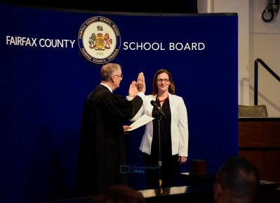 Fairfax County School Board Swearing In